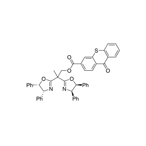 2,2-Dis((4R, 5S)-4,5-diphenyl-4,5-dihydrooxazol-2-yl)propyl 9-oxo-9H-thioxanthene-3-carboxylate