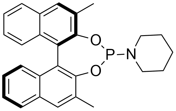 1-((11bR)-2,6-dimethyldinaphtho[2,1-d:1',2'-f][1,3,2]dioxaphosphepin-4-yl)piperidine