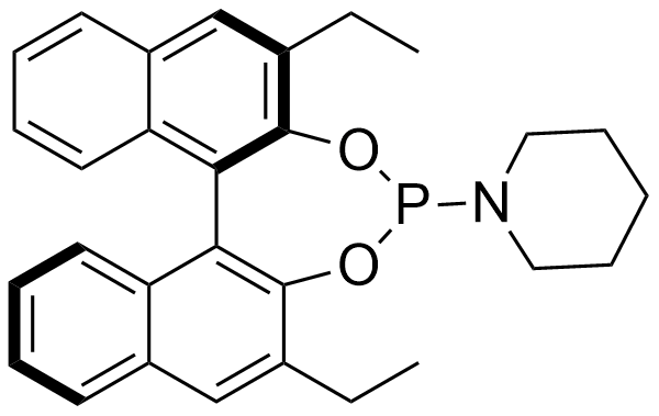 1-((11bR)-2,6-diethyldinaphtho[2,1-d:1',2'-f][1,3,2]dioxaphosphepin-4-yl)piperidine