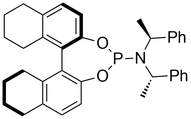 (11bR)-N,N-bis((S)-1-phenylethyl)-8,9,10,11,12,13,14,15-octahydrodinaphtho[2,1-d:1',2'-f][1,3,2]dioxaphosphepin-4-amine