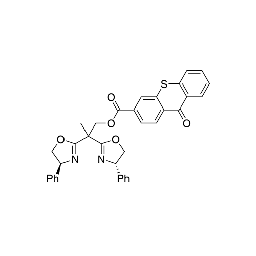 2,2-Dis((S)-4-phenyl-4,5-dihydrooxazol-2-yl)propyl 9-oxo-9H-thioxanthene-3-carboxylate