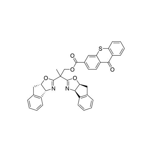 2,2-Dis((3aR, 8aS)-8,8a-dihydro-3aH-indeno[1,2-d]oxazol-2-yl)propyl 9-oxo-9Hthioxanthene-3-carboxylate
