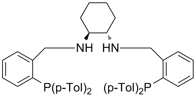 (1S,2S)-N,N-Bis[2-(di-p-tolylphosphino)benzyl]cyclohexane-1,2-diamine, min. 97%
