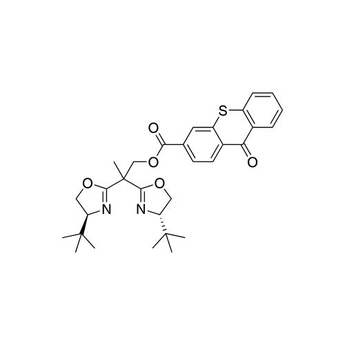 2,2-Dis((S)-4-(tert-butyl)-4,5-dihydrooxazol-2-yl)propyl 9-oxo-9H-thioxanthene-3-carboxylate