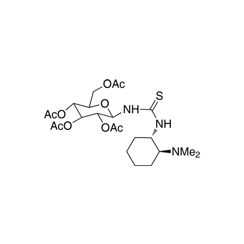 N-[(1S,2S)-2-(Dimethylamino)cyclohexyl]-N'-(2,3,4,6-tetra-O-acetyl-β-D-glucopyranosyl)thiourea