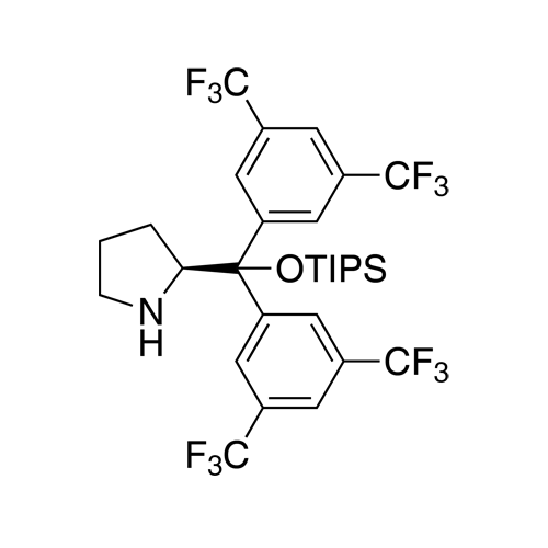 (S)​-2-​[Bis[3,​5-​bis(trifluoromethyl)​phenyl]​[[trisisopropylsilyl]​oxy]​methyl]​pyrrolidine