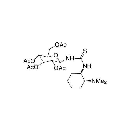 N-[(1R,2R)-2-(Dimethylamino)cyclohexyl]-N'-(2,3,4,6-tetra-O-acetyl-β-D-glucopyranosyl)thiourea